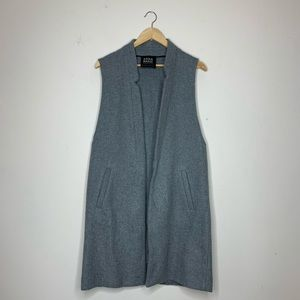 Zara Basic Long Vest, sz. S